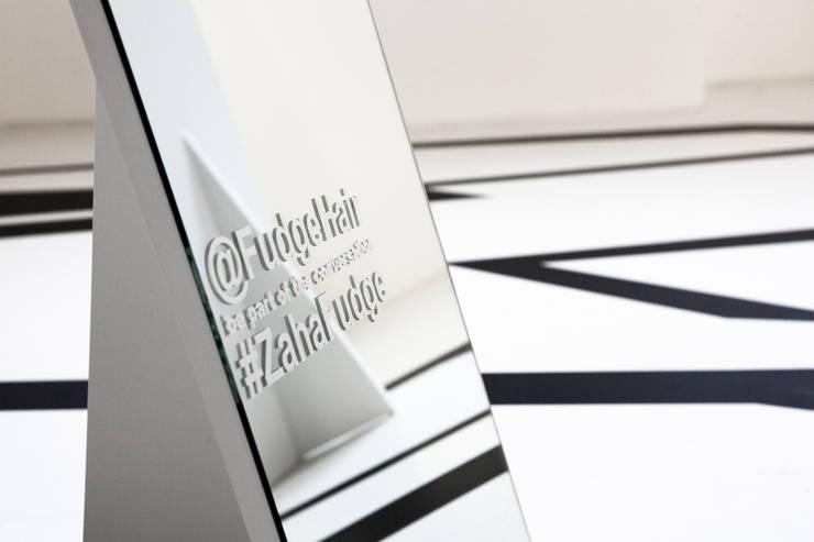 Zaha Hadid Design Gallery :  Multimedia room by Tendeter