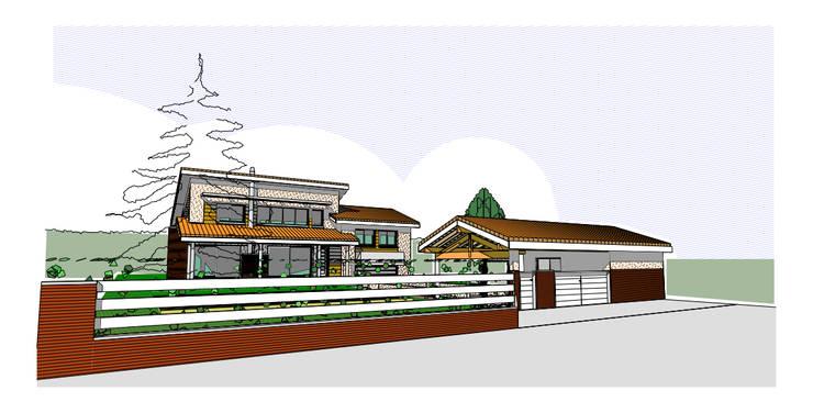 Maison individuelle:  de style  par Marc Amaré Architecte