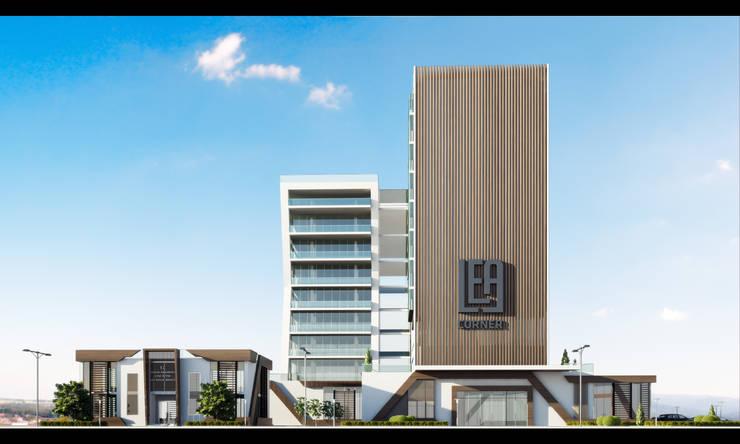 GOOA|GLOBAL OFFICE OF ARCHITECTURE  – Proje Görseli-3:  tarz Ofisler ve Mağazalar