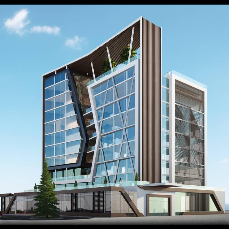 GOOA|GLOBAL OFFICE OF ARCHITECTURE  – Proje Görseli-2:  tarz Ofisler ve Mağazalar