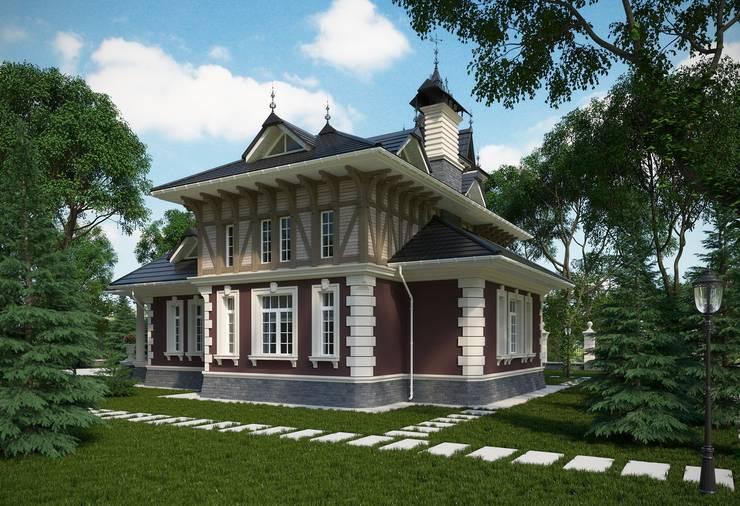 Дом в Викторианском стиле: Дома в . Автор – Максим Любецкий,