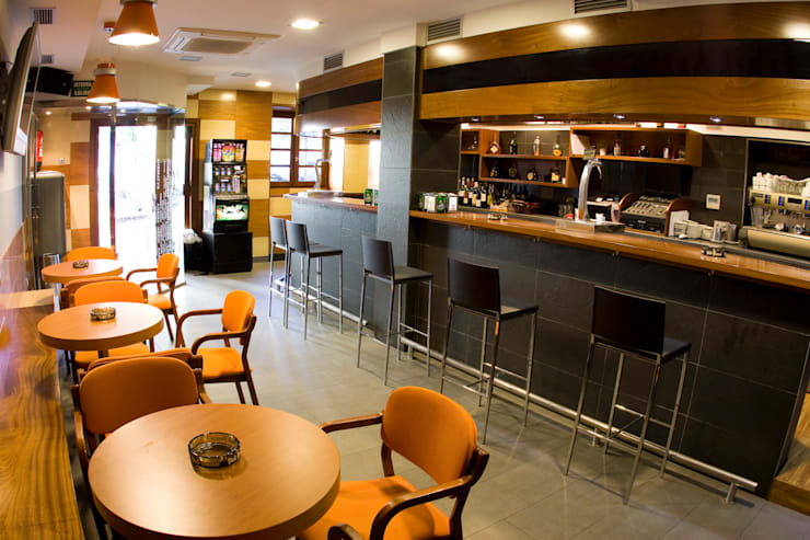 Miren Taberna: Locales gastronómicos de estilo  de Lauburu Estudio