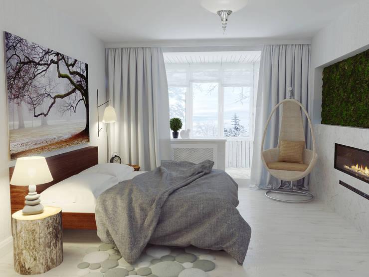 Спальня: Спальни в . Автор – Olesya Parkhomenko