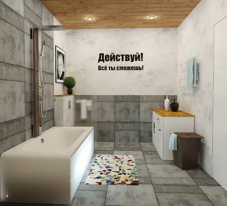 Ванная: Ванные комнаты в . Автор – Olesya Parkhomenko