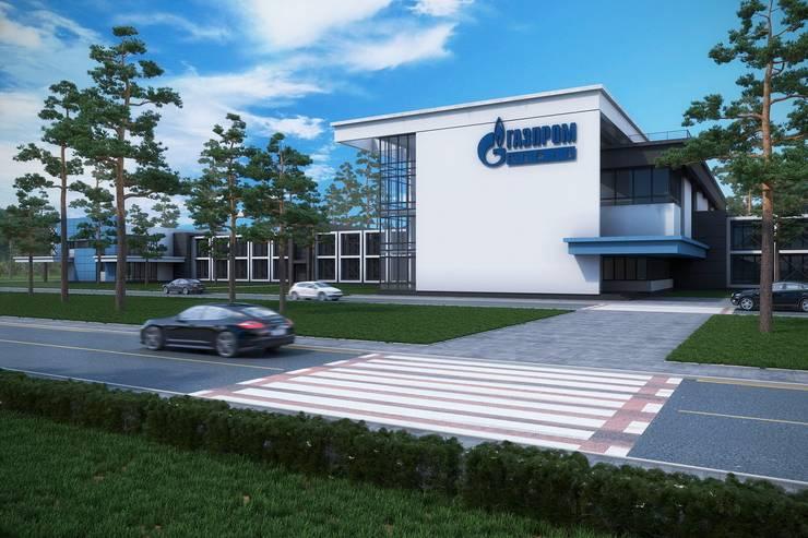 """Офис """"Газпром"""": Дома в . Автор – Максим Любецкий"""