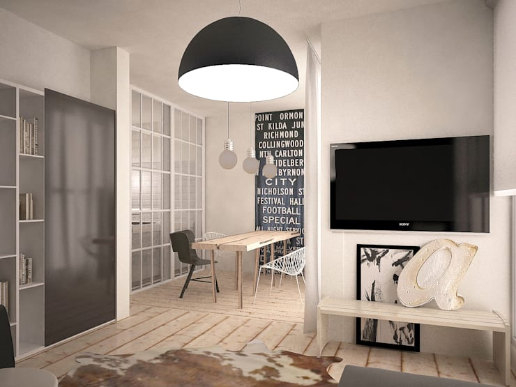 Da Vinci residential: Столовые комнаты в . Автор – SHKAF interior architects