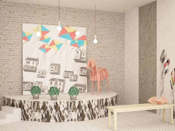 Nursery/kid's room by SHKAF interior architects