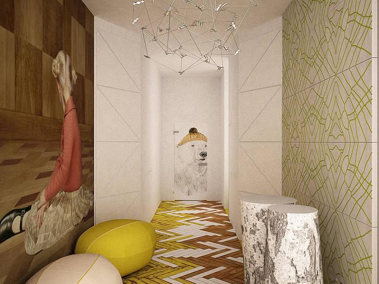 Ingresso & Corridoio in stile  di SHKAF interior architects