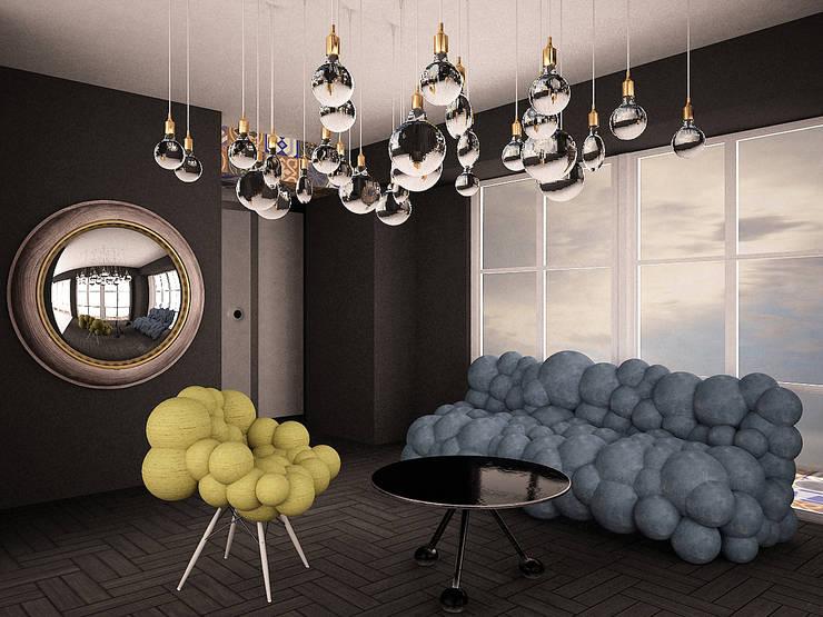 Suite in a hotel in Sochi : Гостиницы в . Автор – SHKAF interior architects