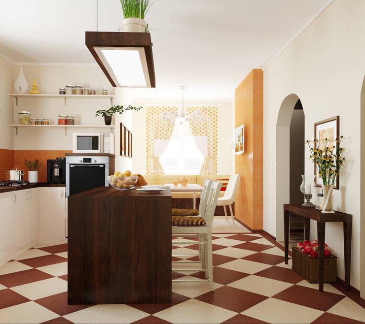 Кухня: Кухни в . Автор – Olesya Parkhomenko