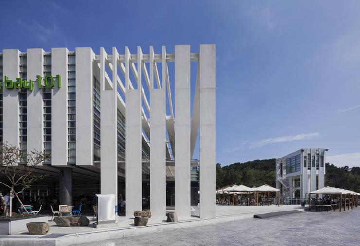 The bay101: (주)일신설계종합건축사사무소의  가게