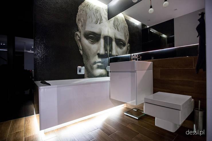 Projekt w Poznaniu: styl , w kategorii Łazienka zaprojektowany przez Dessi