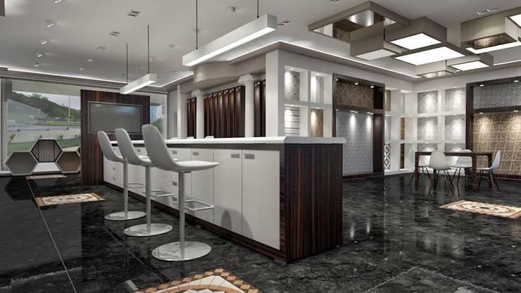 StellaStil İç Mimarlık – Enstantaneler :  tarz Ofis Alanları