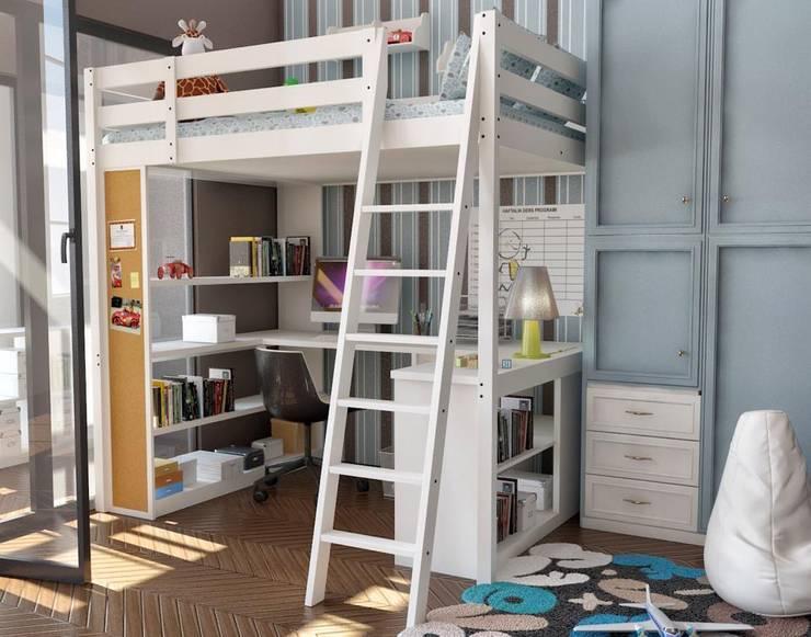 modern Nursery/kid's room by StellaStil İç Mimarlık