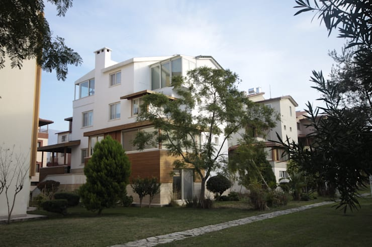 DerganÇARPAR Mimarlık  – AHMET ASLI İLHAN EVİ : modern tarz Evler