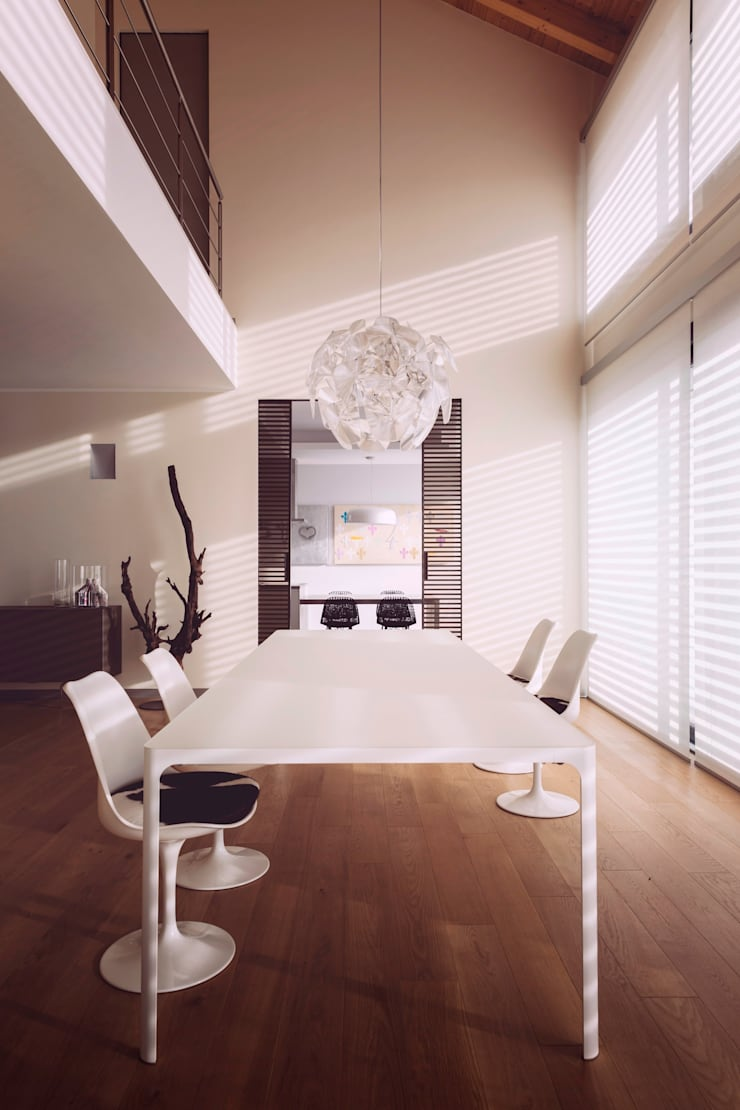 casa ROSS: Soggiorno in stile  di Marg Studio