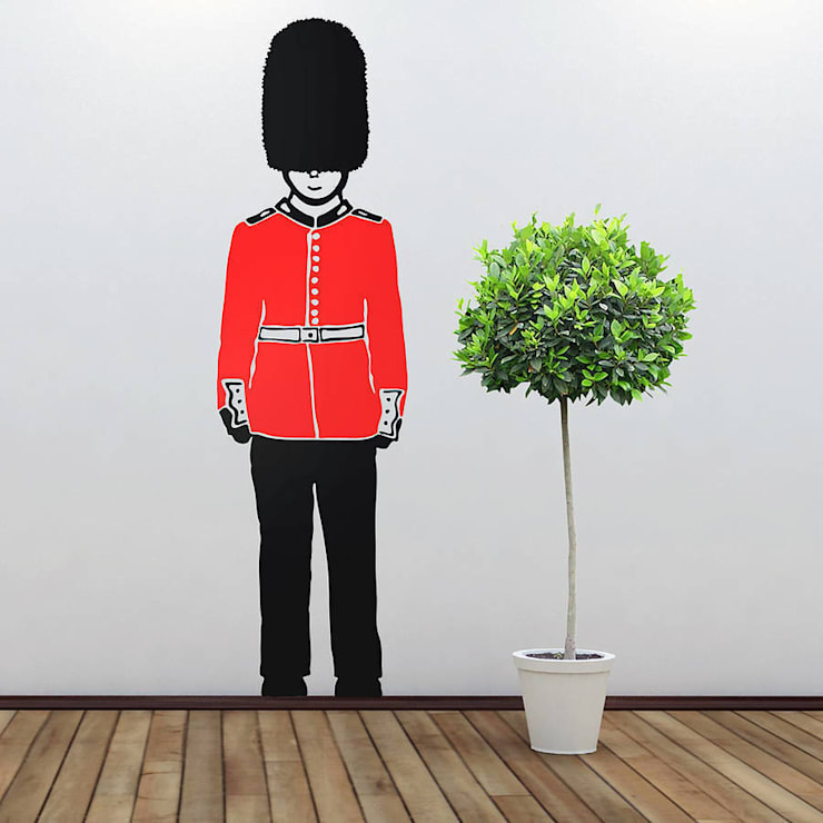 Queens Guard Wall Stickers:  Walls & flooring by Cuckooland