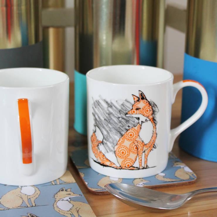 Urban Fox Mug :  Kitchen by martha and hepsie ltd