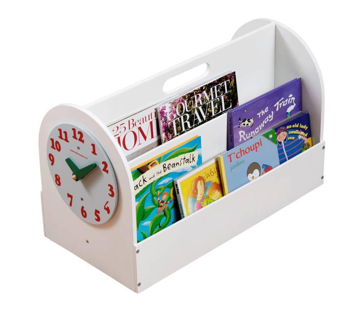 Tidy Book Children's Book Box white:  Nursery/kid's room by Tidy Books