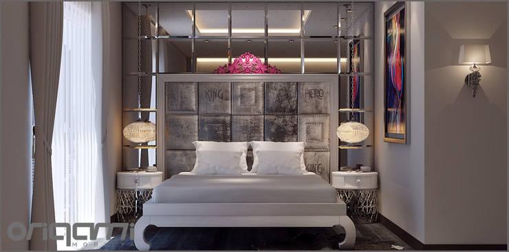 Спальни в . Автор – Origami Mobilya