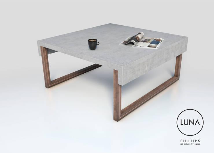 Projekty,  Salon zaprojektowane przez Phillips Design Studio