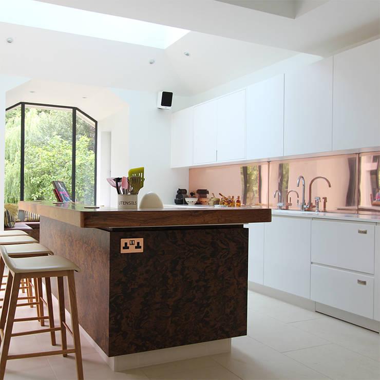 Wanstead Village Kitchen:  Kitchen by Phillips Design Studio