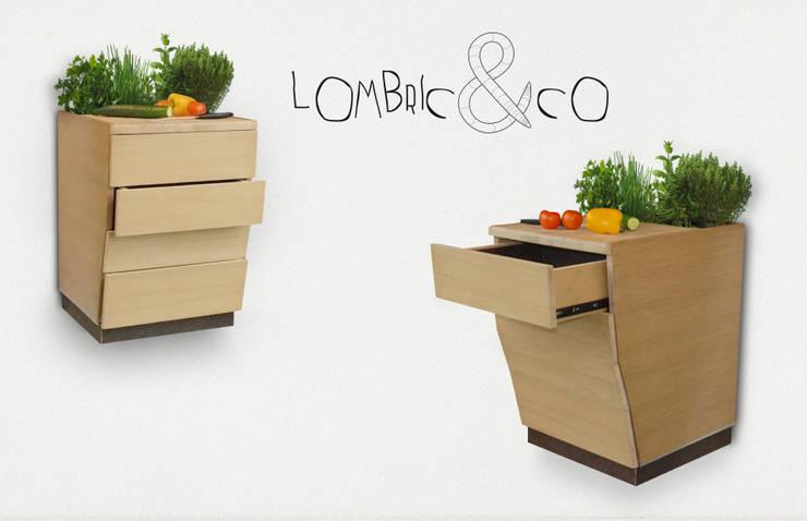 Lombric&Co: Cuisine de style  par Les Gallinules