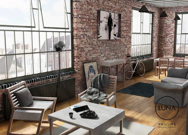 Phillips Design Studio의  거실