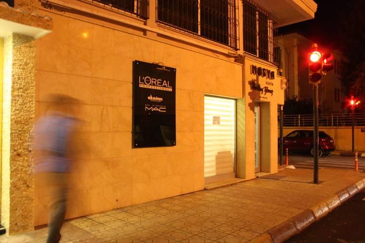 DerganÇARPAR Mimarlık  – Nasya Kuaför:  tarz Dükkânlar