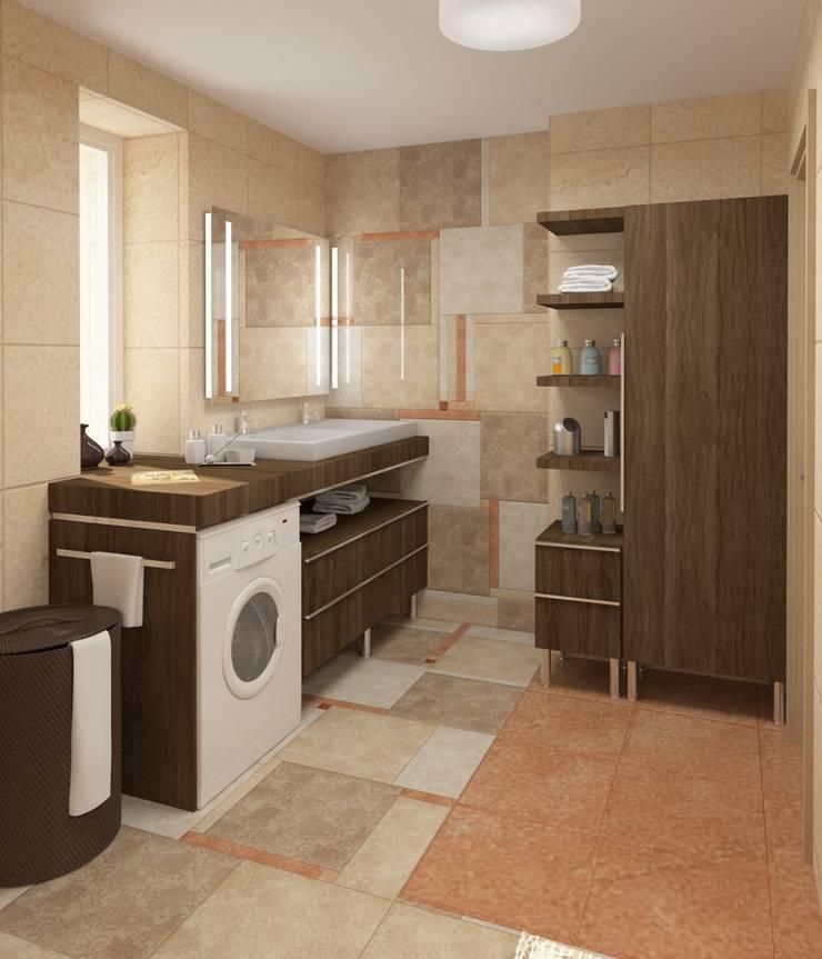 Ванная: Ванные комнаты в . Автор – e.v.a.project architecture & design