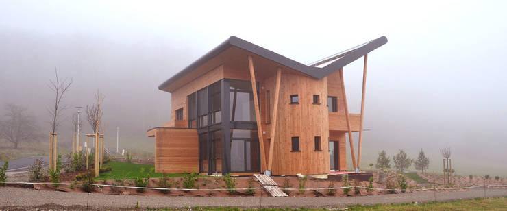 BIOVILLA K: Maisons de style de style eclectique par BIOVILLA