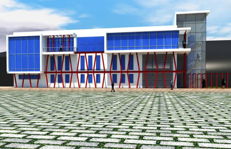 Edificios de oficinas de estilo  de DerganÇARPAR Mimarlık