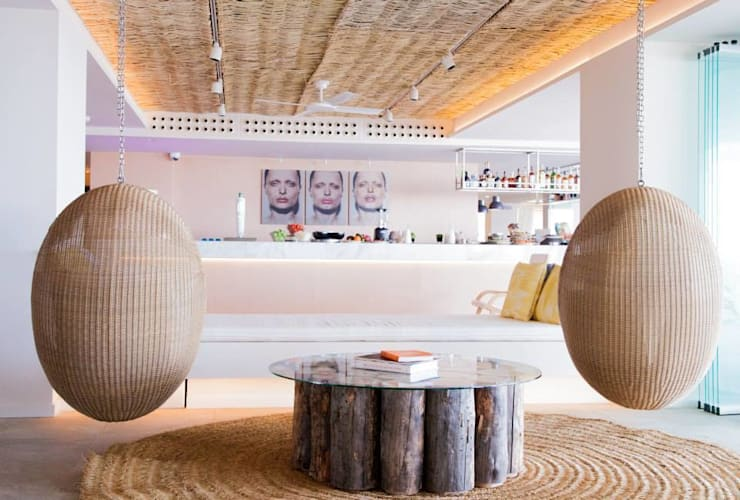 4* Hotel ME IBIZA, Ibiza, SPANIEN:  Arbeitszimmer von Casa Bruno - the way to feel good,Modern