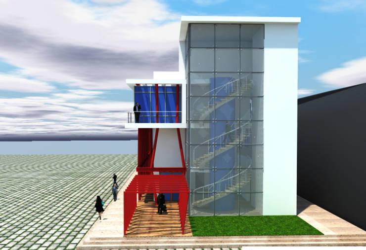 DerganÇARPAR Mimarlık  – İLHANLAR İDARİ BİNASI İSKENDERUN :  tarz Ofis Alanları