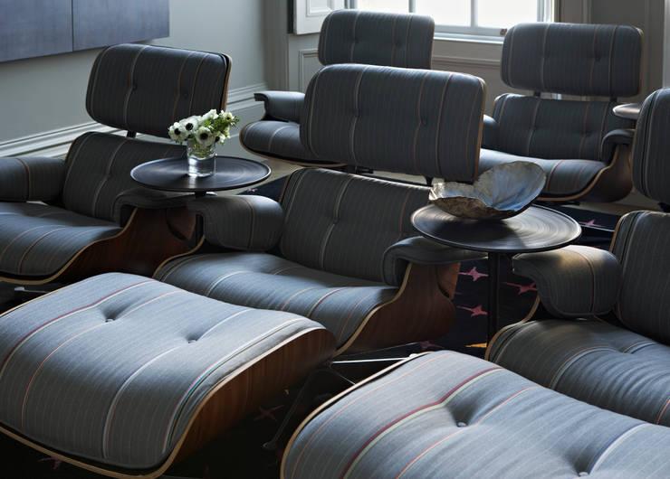 Bedford Row Cinema:  Media room by Violet & George