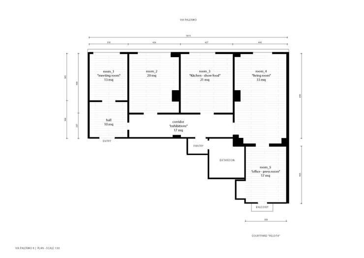 P8 apartment | Segno Italiano® showroom | Milan | layout:  in stile  di Segno Italiano®, Mediterraneo