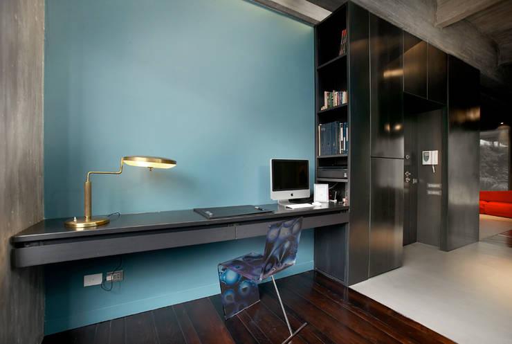 MG2 architetture - Interior - Loft: Studio in stile  di mg2 architetture