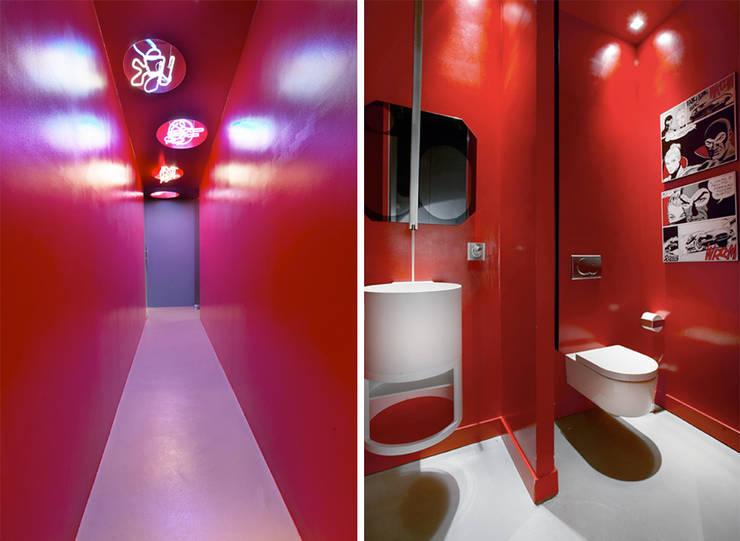 MG2 architetture - Interior - Loft: Bagno in stile  di mg2 architetture