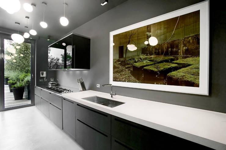 MG2 architetture - Interior - Loft: Cucina in stile  di mg2 architetture