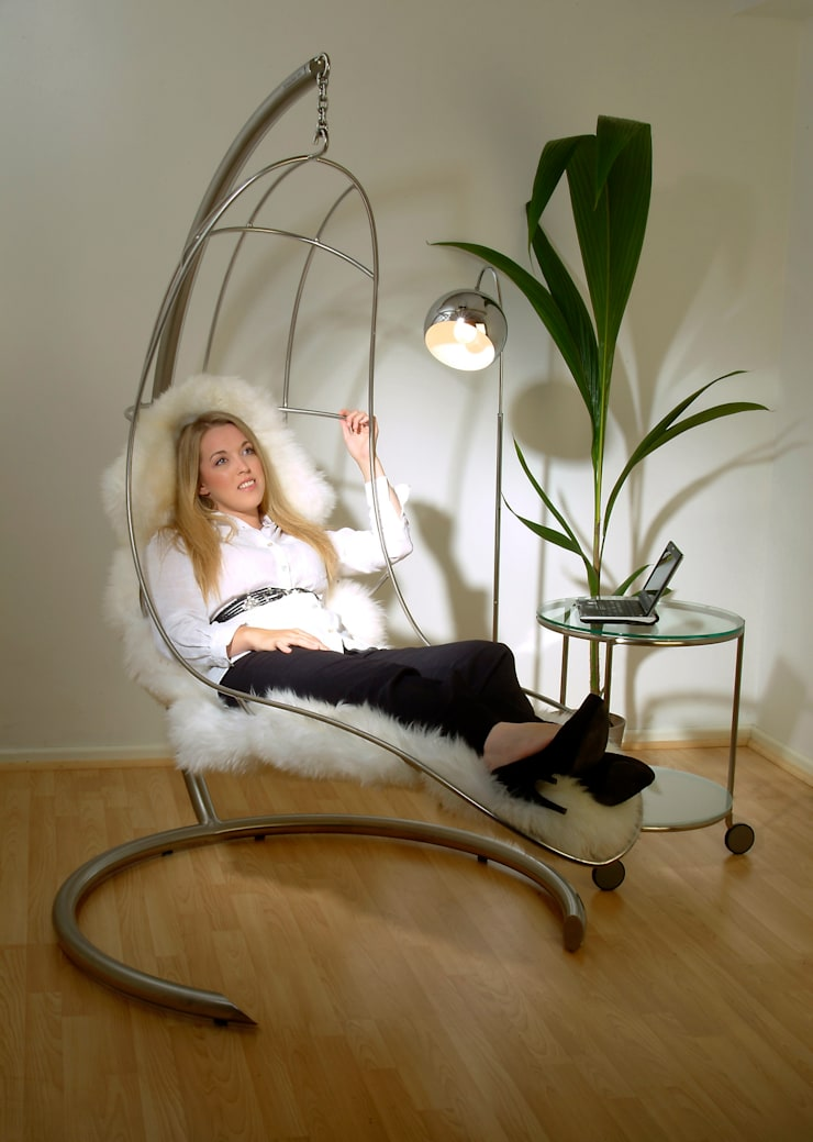 The Nirvana Chair:  Living room by Nirvana Chairs