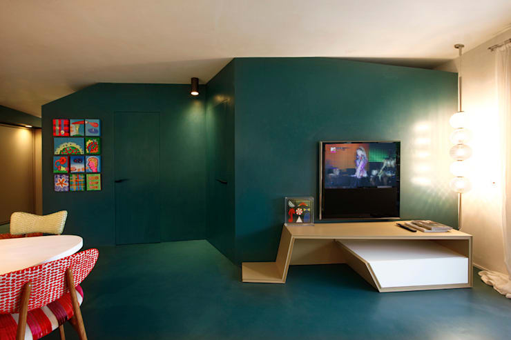Pareti Salotto Verde : I colori migliori per dipingere le pareti nel