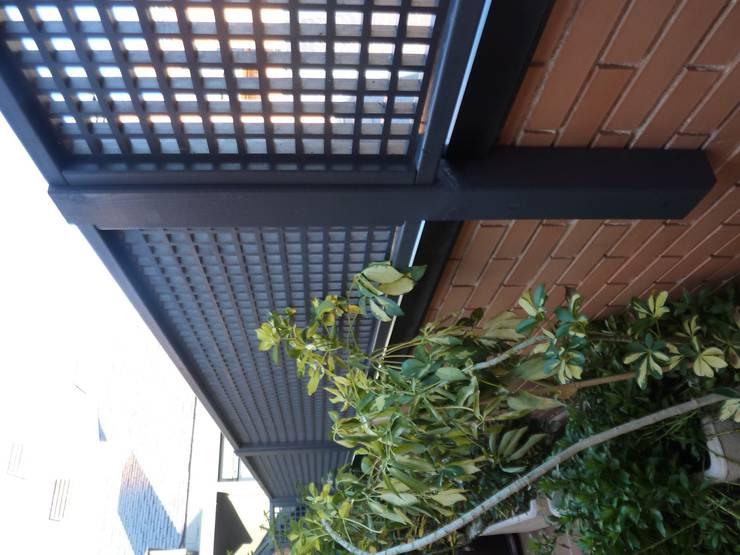Decoración De Terrazas Y Jardines Celosías By Palos En Danza