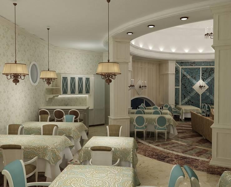 Многофункциональный зал в Русском стиле: Медиа комнаты в . Автор – Efimova Ekaterina