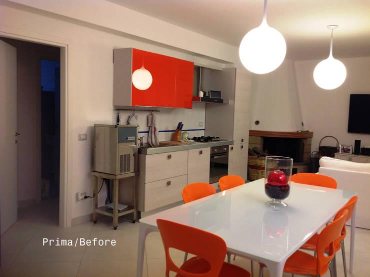 New look  – La cantina prima e dopo:  in stile  di marco olivo