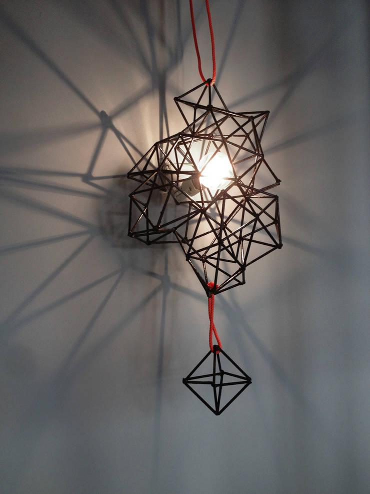 Structure Lamp: Salon de style  par Victor Felletin