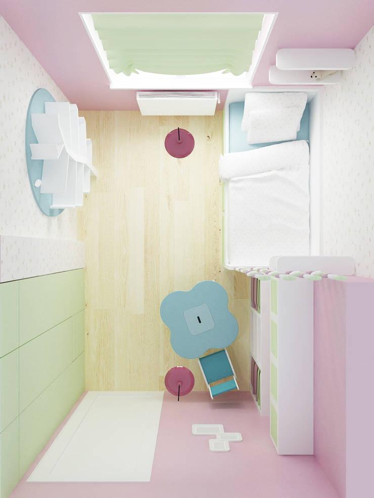 Pokój 4-latki: styl , w kategorii Pokój dziecięcy zaprojektowany przez SPOIWO studio