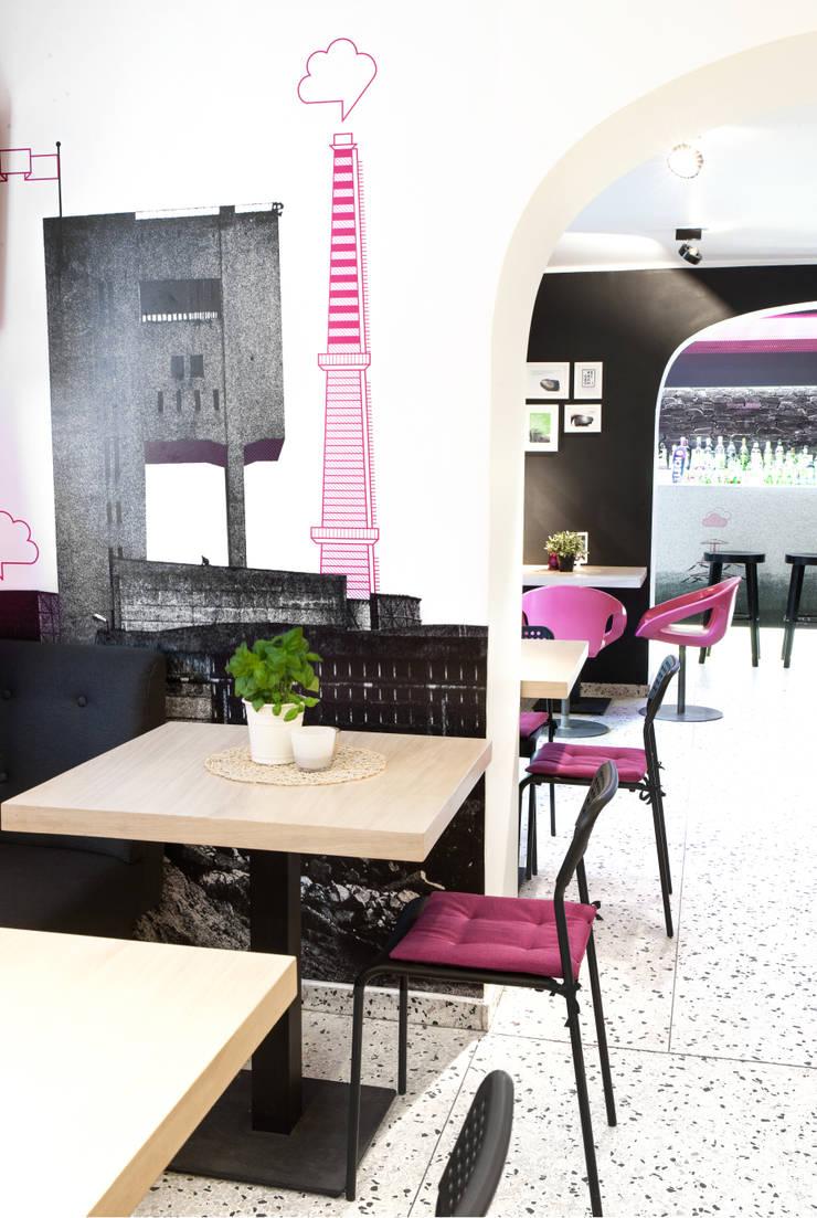 Pub Pivnica : styl , w kategorii Gastronomia zaprojektowany przez Pracownia Architektury Cechownia
