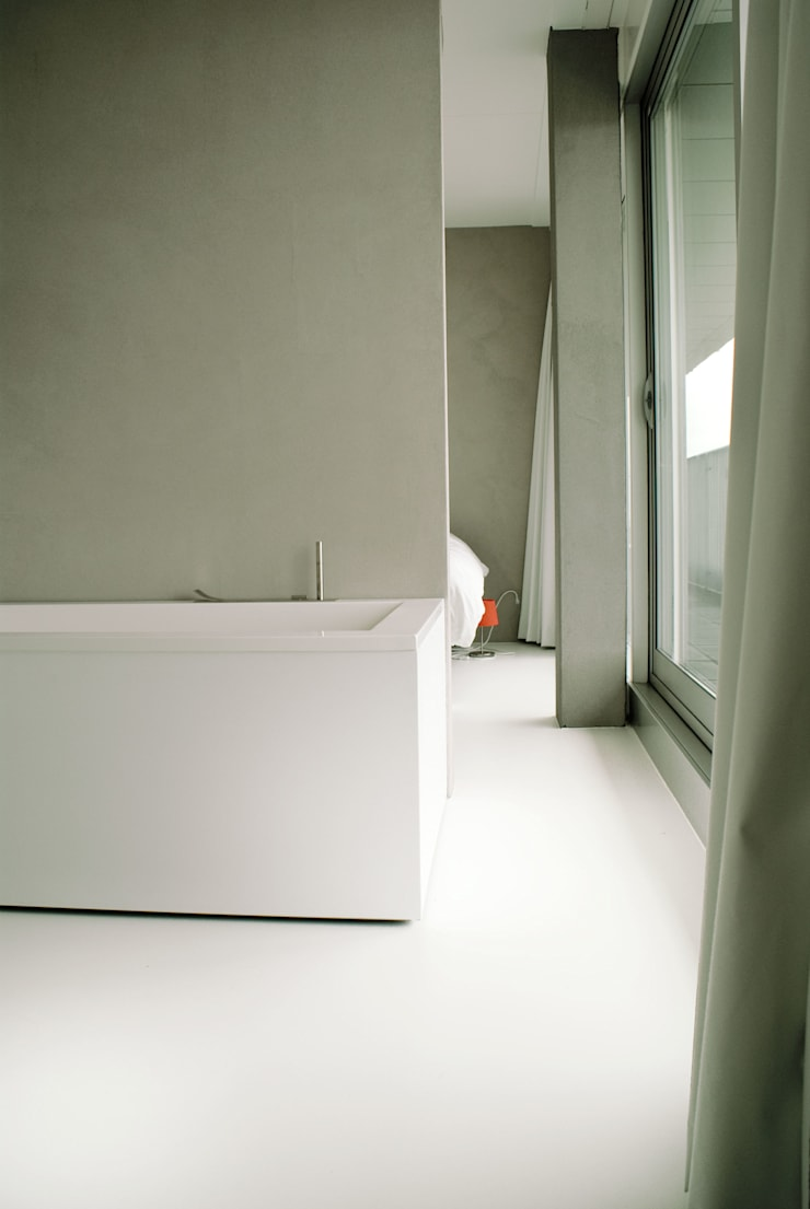 Penthouse:  Badkamer door CioMé