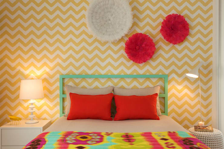 Girly Room: Quartos modernos por Ana Rita Soares- Design de Interiores