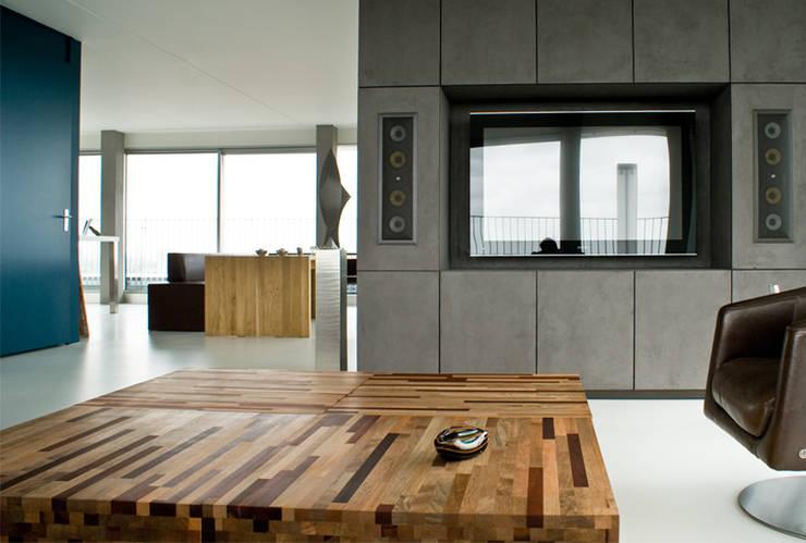 Penthouse:  Woonkamer door CioMé